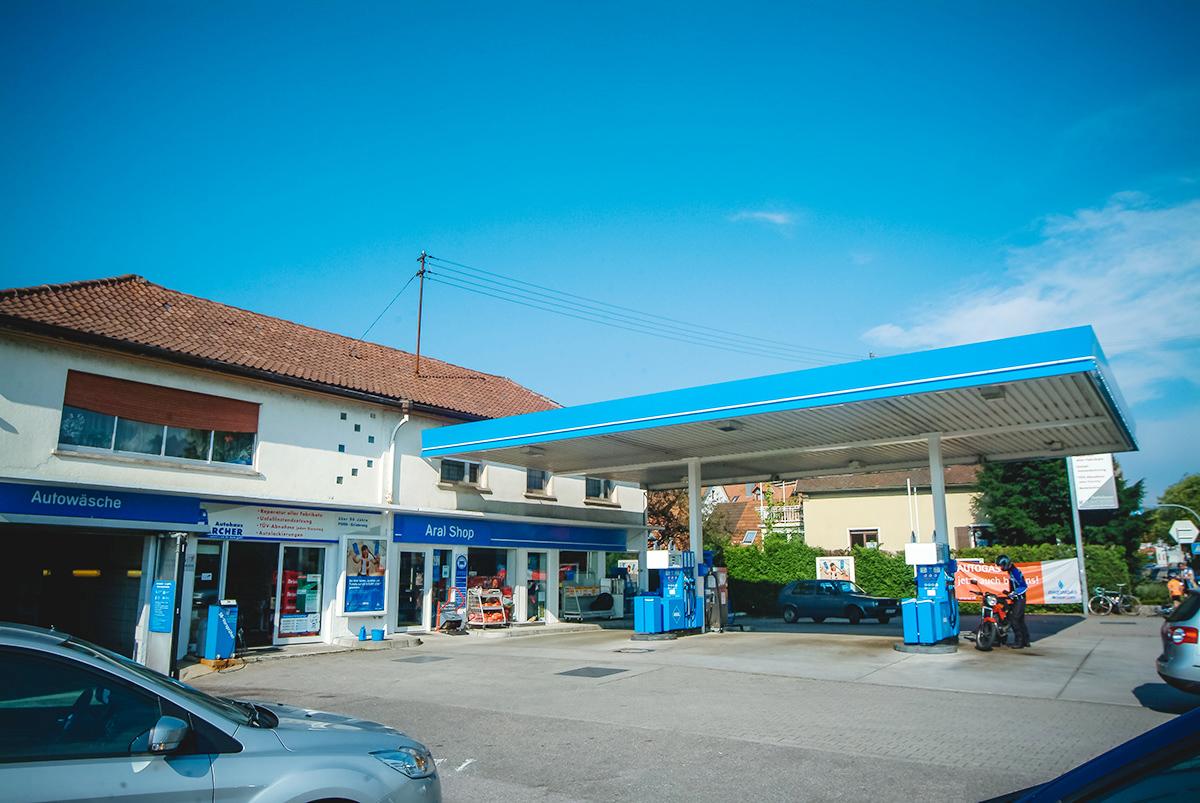 Autohaus Karcher Steinbach Tankstelle